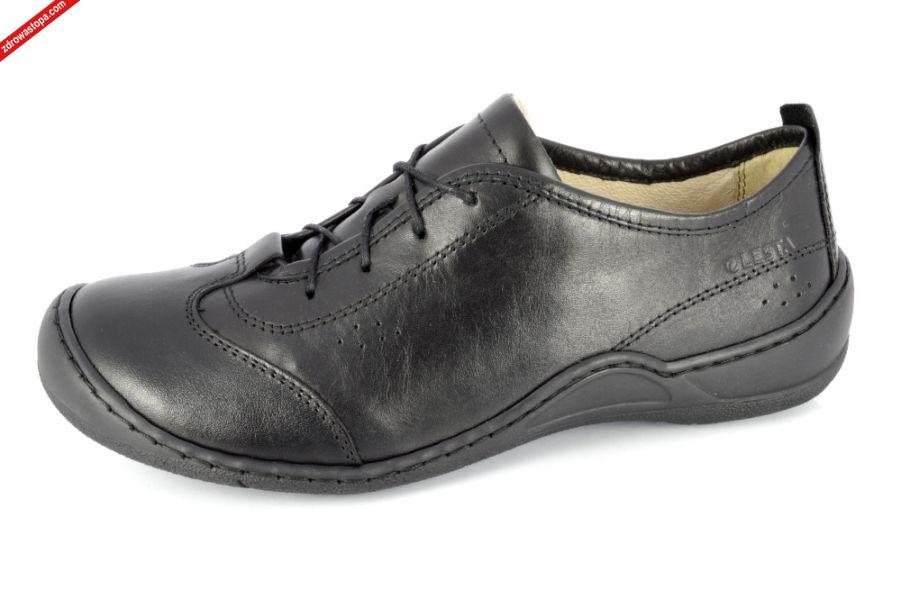 388f38ac0669f Kolor: czarny. Materiał wierzchni: skóra naturalna lico. Wnętrze buta:  skóra naturalna lico + materiał obuwniczy. Rozmiar: od 36 do 41